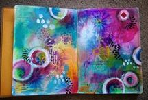 Art journal -a journey! / Things I would like to incorporate in my own Art Journal as well as ideas and inspiration.