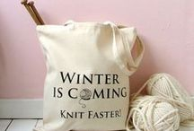 Winters coming, knit faster