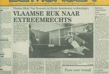 De Morgen / A Belgian newspaper with great art direction.