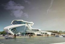 Architectural render 3D