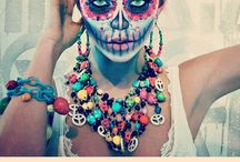 Halloween / carnaval make-up / outfit