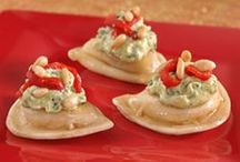 Party Starters / Pierogy Appetizers! / by Mrs. T's Pierogies