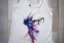Painting T-shirts/Clothes/Cups