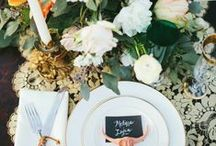 | wedding table | / Try these easy wedding table ideas and decor that will wow guests and make your reception memorable. We have pinned some of our favorite wedding table settings from napkins, place settings, place card ideas, and centerpieces.