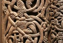 Knotwork • Patterns • Runes / Knotwork, stone carvings, celtic and other various patterns, runes and symbols. Viking Medieval Historical