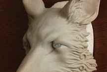 Work In Progress - Behind The Scenes / Work in progress and behind the scenes-photos of sculpting, moldmaking, casting, sewing, painting, creating, DIY