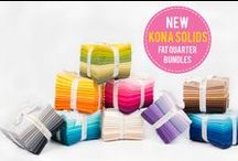 Kona Solids by Robert Kaufman