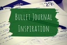 Bullet Journal inspiration / Bullet Journal page spread ideas and hacks