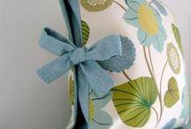 Senior Home Ec: Soft Furnishings / embellishing coordinated soft furnishings