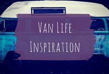 Van life inspiration / Ideas and tutorials for the future dream van life.