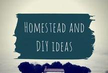 Homestead and DIY ideas / Home decor, DIY tutorials and homesteading ideas.