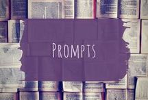 Prompts / Writing and drawing prompts, to never be without.