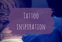 Tattoo inspiration / Tattoos and other art that inspire me to work on my own.