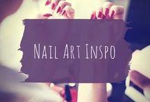 Nail art inspo / Nail art ideas and tutorials.