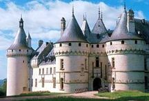 Châteaux ♕♖ Castles /  Castles, palaces, mansions in France and all over the world / by Marie J Aimjie
