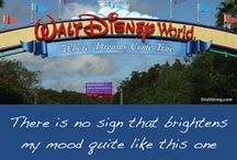 Walt Disney World - My Utopia / I'm either on my way or I'll be right back! / by AuroraApril