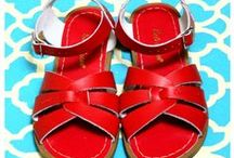 Red Days / Red Salt-Water Sandals for Women plus other rouge beauties