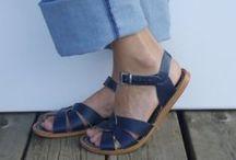 Navy Days / Navy Salt-Water Sandals for women & other lovely naviness