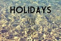 Holidays / Where do you fancy taking your Salt-Waters?