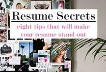 Resume Tips / A resource for job seekers to perfect their resume