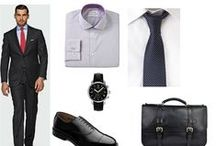 InterviewStyle: Men  / A board to help males choose the perfect attire for a job interview