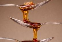 ~Pure Maple Syrup Products~ / Food items, both sweet and savory that are sweetened with Vermont Pure Maple Syrup