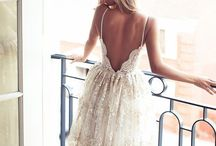 Beautiful backs of wedding dresses