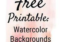 Free Printables & Downloads / A compilation of free printables and downloads around the world wide web! enjoy! :)