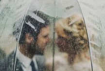 Rainy Day Wedding / Don't panic if it rains on your wedding! Feeling, must-haves and beautiful moments for rainy day wedding.