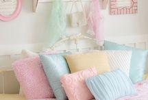 Pastel / Inspirations déco couleurs pastels