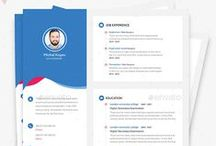 Resume / Professionally designed, easy-to-edit template.resume as professional, creative, and versatile as you are! Fully customizable in Adobe Photoshop.