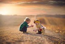 let them be kids / kids having fun, playing, just being kids!