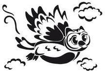 šablony-ptáci
