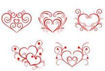 šablony-láska