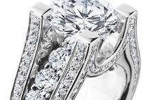 Engagement Rings / Engagement rings hand crafted by the team at Craft-Revival Jewelers in Grand Rapids Michigan.