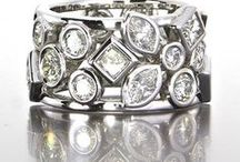 Wedding Bands / uniquely handcrafted designs made at Craft-Revival Jewelers