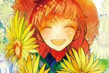 sunflower-太陽の花- / まっすぐに 伸びてゆく ひまわりのような人でした