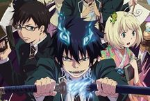 Blue exorcist / Blue exorcist is an anime that i really love!! The anime is about the twins Yukio and Rin who's training to be an exorcist. I love the soundtracks and opening songs and the character in the anime. My favourite character is Mephisto Pheles.