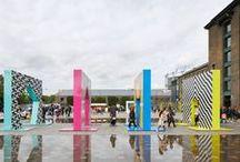 DESIGN - installation / indoor, outdoor, digital, light, colorful installation contemporary exhibition designer, pattern, texture, art