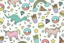 funny & cute :D / cuteness overload with unicorn, minion, dino, panda, squirrel