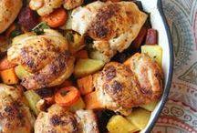 Chicken, Turkey, Meat, Sausage, Prosciutto