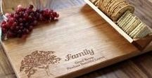 Wooden Cheeseboards / Please visit me at www.beaucadeau.ca for more information.