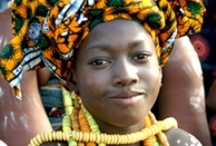 Ghana, West Africa / Ghana is located in West Africa.  It has beautiful scenery and interesting sites such as slave castles and national parks.