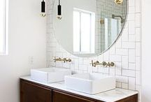 bathroom / Inspirations, design, ideas for cozy and minimal bathroom