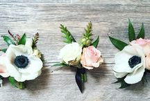 Wedding Wearables / Boutonnieres Corsages Wrist corsages