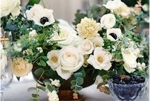 Centerpieces / sweet heart table/ guest table pins by Flower Shack Blooms and other inspiration!