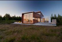 Casa de Hielo / El proyecto Ice House se ha hecho realidad. El resultado es la creación de esta vivienda situada en Reikiavik, Islandia. La casa prefabricada cuenta con una planta constituida por diversos módulos. El coste en España es de 750€/m2 aproximadamente, dependiendo de acabados.