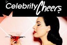 Celebrity Cheers / Brindisi V.I.P. / Un'antologia dei brindisi delle star, cocktail affascinanti, dove la guarnizione sono... le stelle!