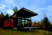 ASD House / Vivienda modular de una planta localizada en Washington.