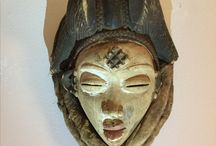 Kuba&African art / Textile and masks from Africa.